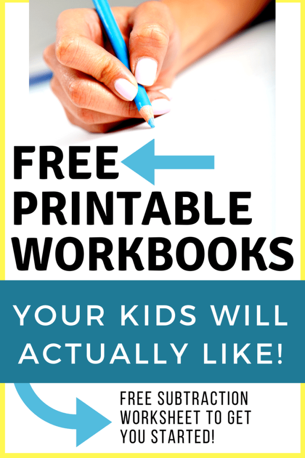 Homeschool Workbooks: Easy & FREE Solution for Kids that Hate ...