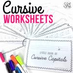 Cursive Worksheets