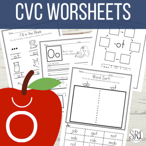 Short o worksheets