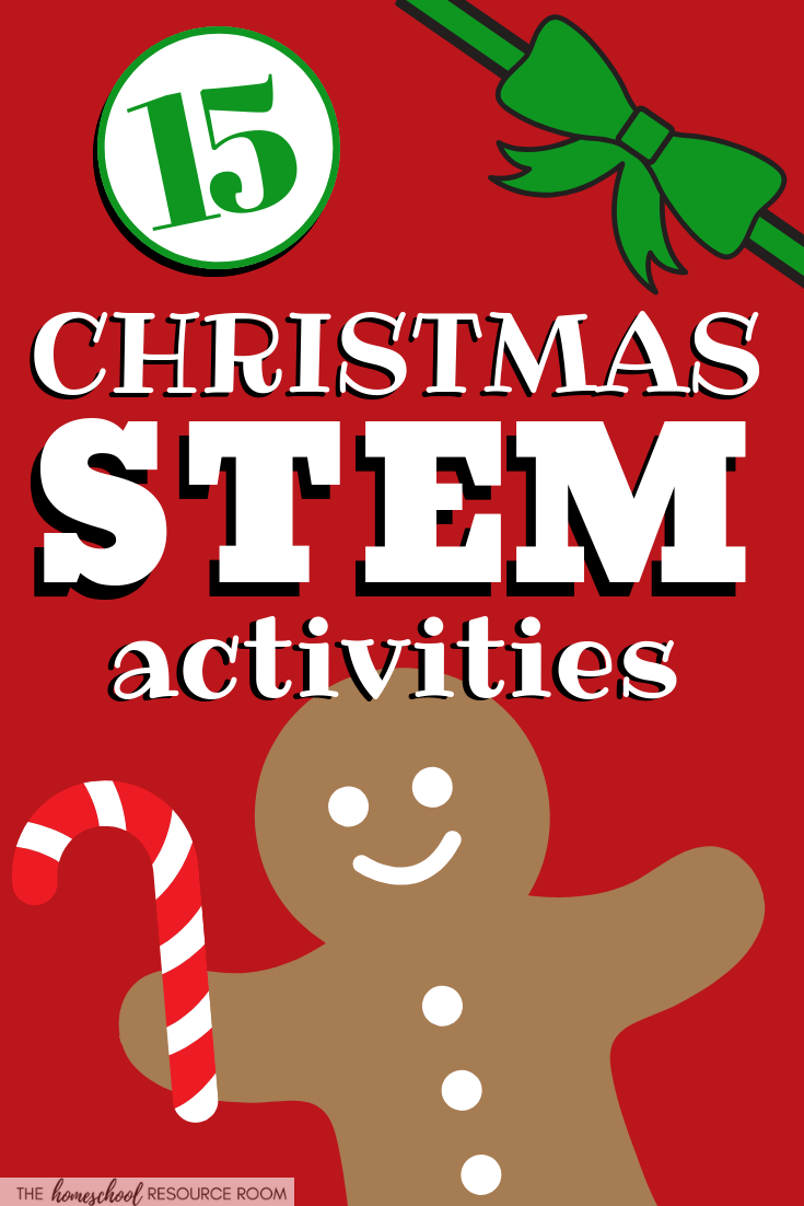 15 Christmas science experiments and STEM activities for the holidays! Hands-on science to keep learning going through the end of the year!
