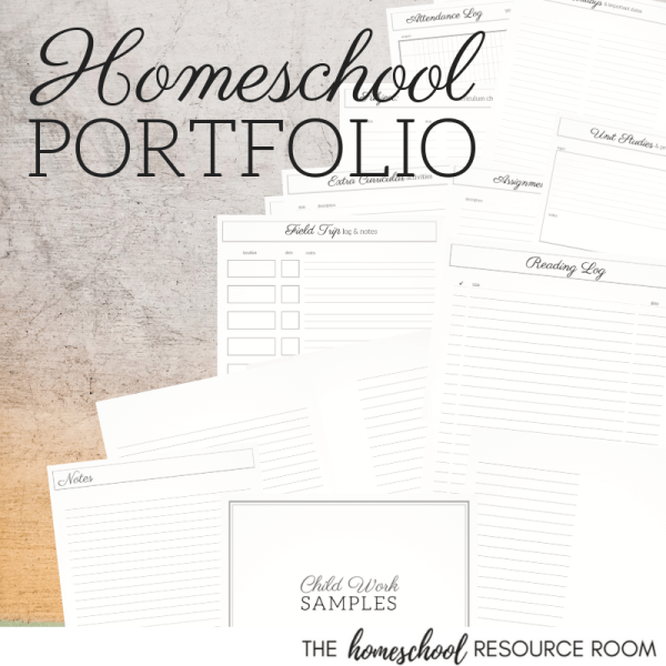 Homeschool Portfolio