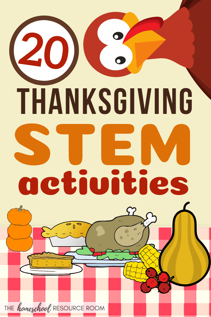 20 Thanksgiving STEM Activities!