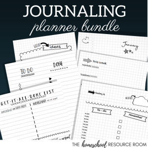 Printable Bullet Journal Pages