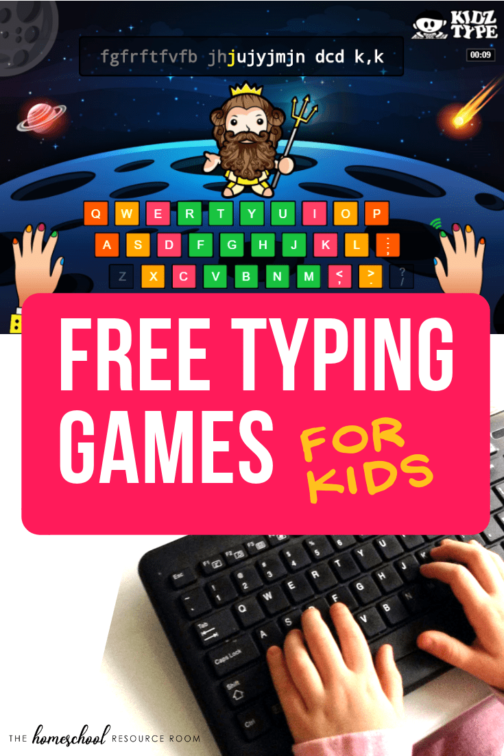 Check out these fun, interactive, and FREE typing games for kids! Full review of the KidzType program - plus some tips on how to get started!