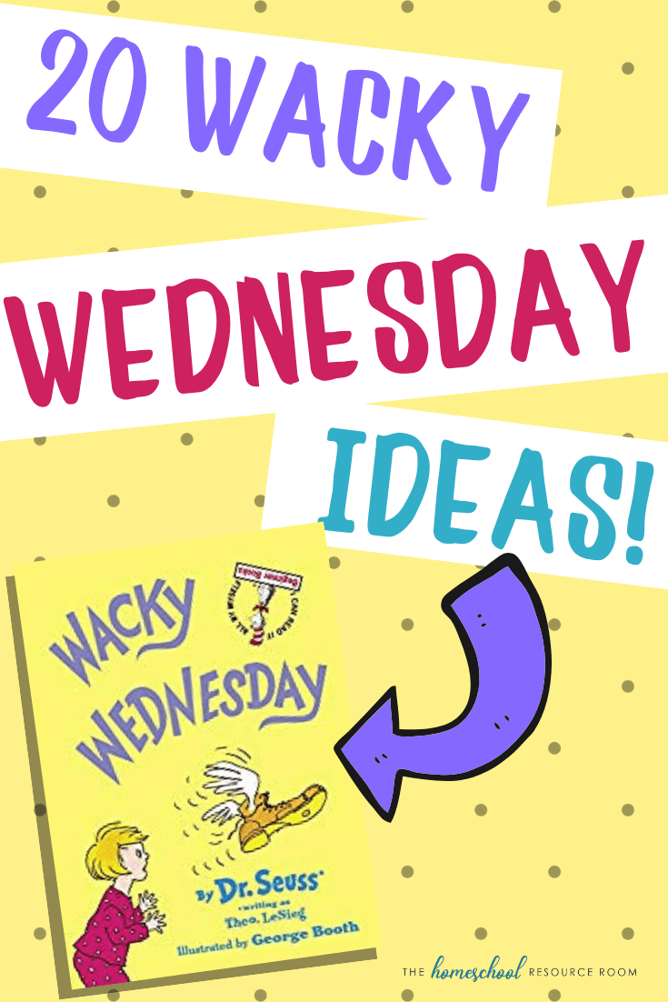20 Wacky Wednesday Ideas: Easy, Low Prep Activities & Surprises!