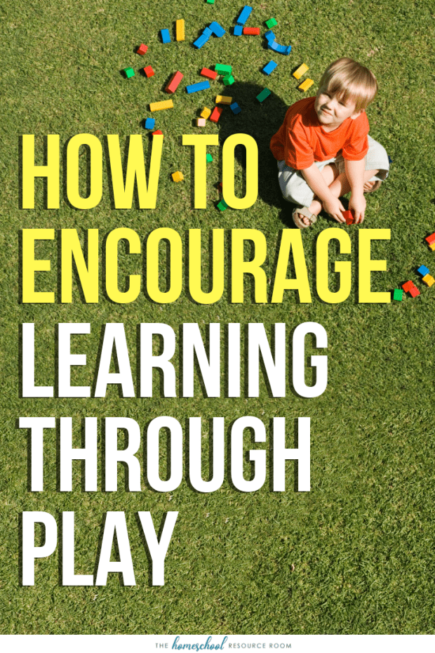 Learning through play: What is it? And how can I use play to teach? Find 5 ways to incorporate learning through play with preschool and early elementary aged children.