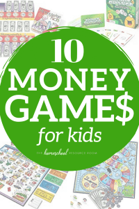 10 FUN Money Games for kids. Teach money, counting coins, and making change with these great games from preschool/kindergarten through elementary grades! #kindergarten #elementary #money #math #education