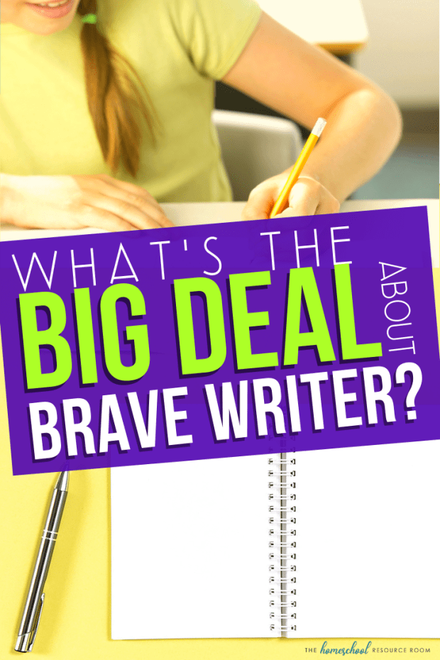 What's the Big Deal About Brave Writer??? Take a look into the Brave Writer Lifestyle with homeschool mom of three, Dachelle, from Hide the Chocolate!!! #homeschool #bravewriter #bravewriterlifestyle