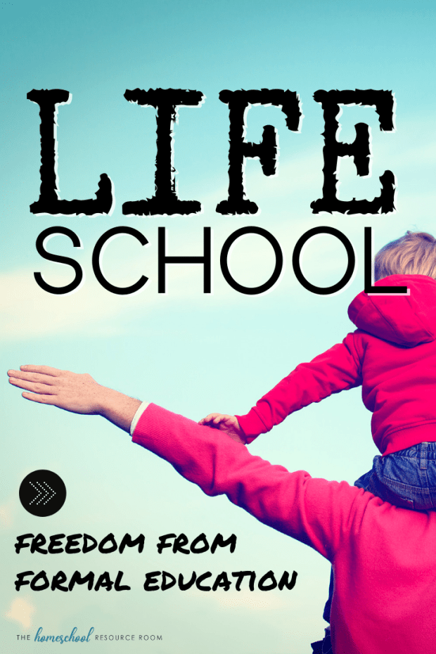Lifeschool: Freedom from Formal Education. A look inside the life of a homeschooling family putting life front and center. #homeschooling #lifeschool #freedom