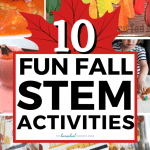 10 Fun Fall Stem Activities The Homeschool Resource Room