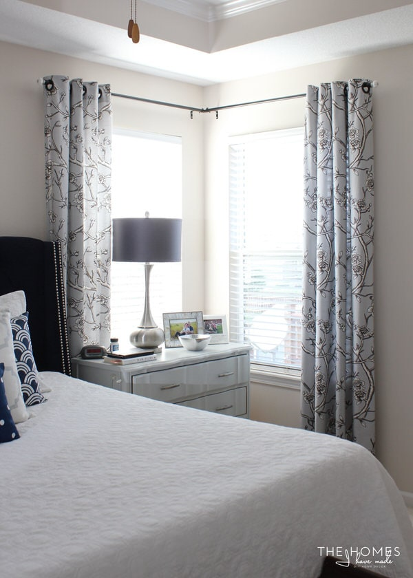 Making the Case for Hanging Curtains in Your Rental | The ... on Bedroom Curtain Ideas  id=48653