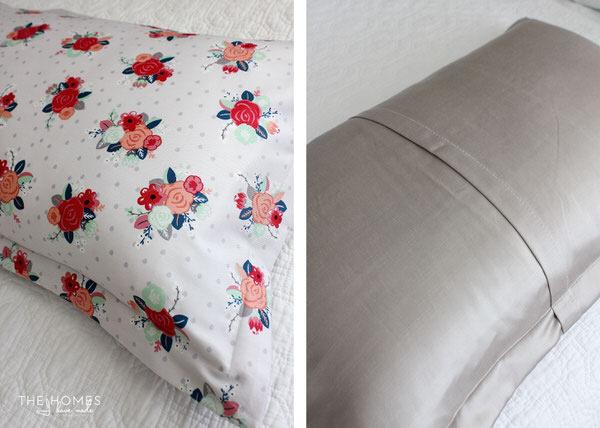 a pillow sham
