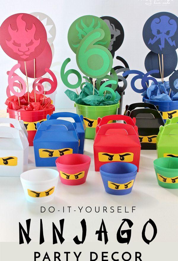 DIY Ninjago Party Decor (Henry's 6th Birthday Party ...