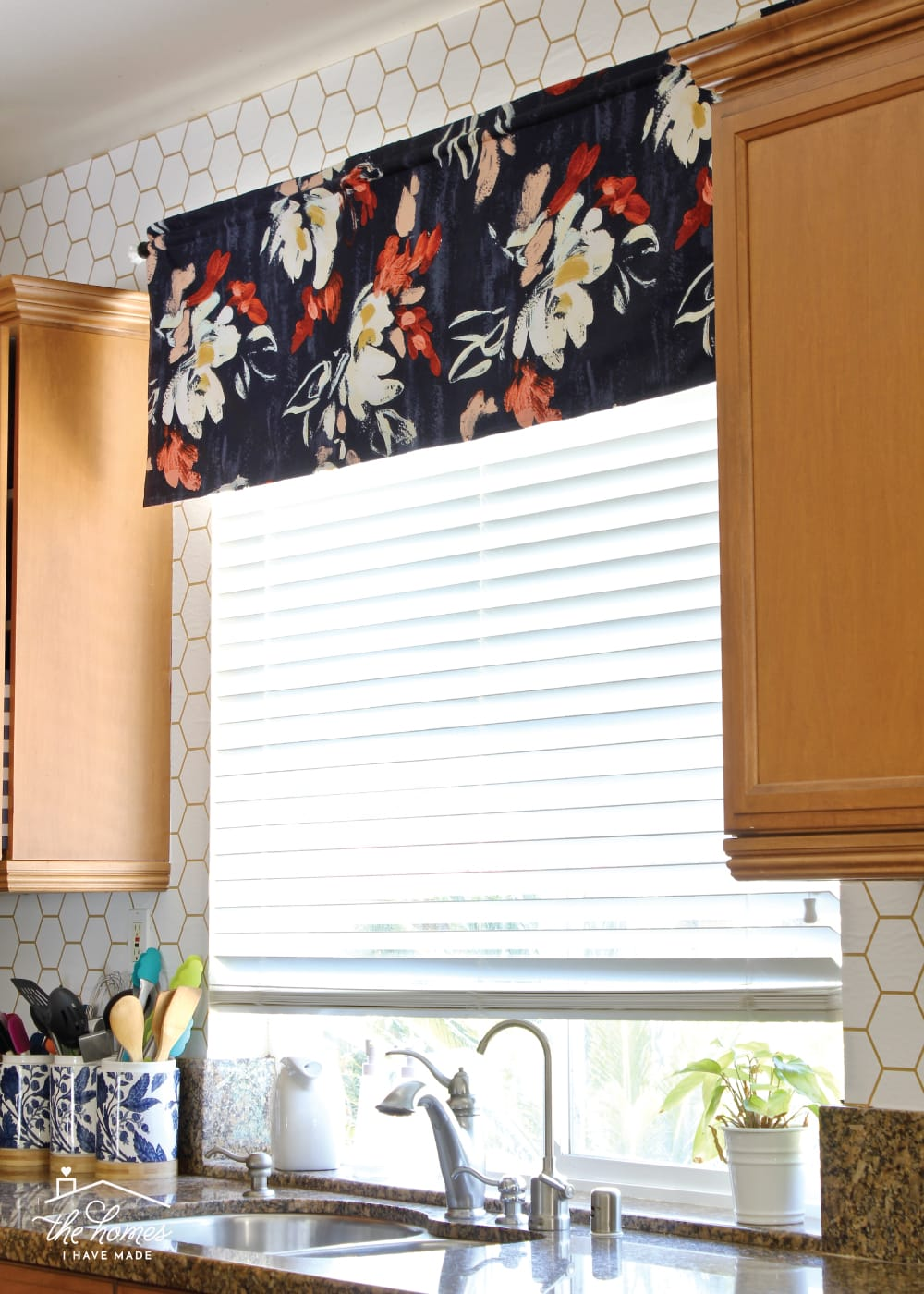 how to make a window valance the