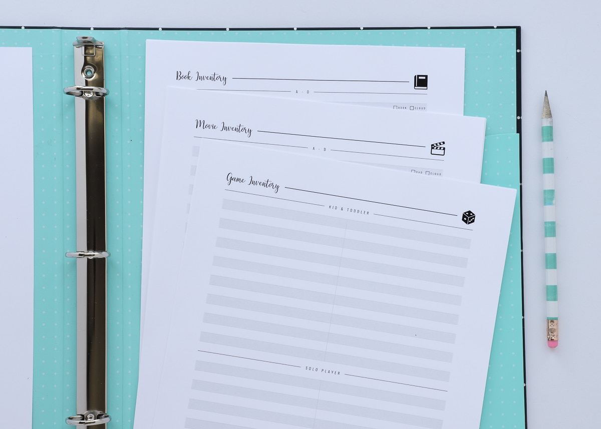 New To The Organization Toolbox Printable Household