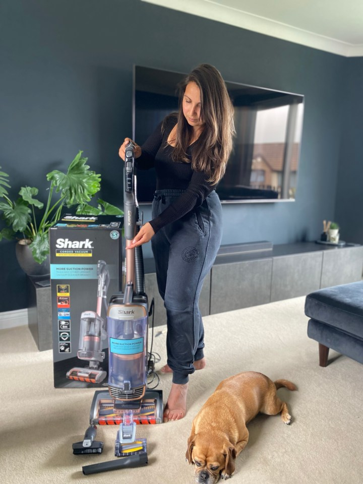 Shark upright anti hair wrap Vacuum with power lift away & truepet review