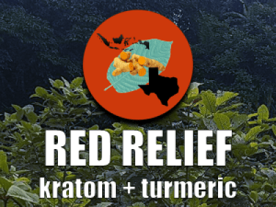 red relief turmeric and kratom