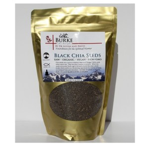 Black Chia Seeds 16 oz. (454 g)