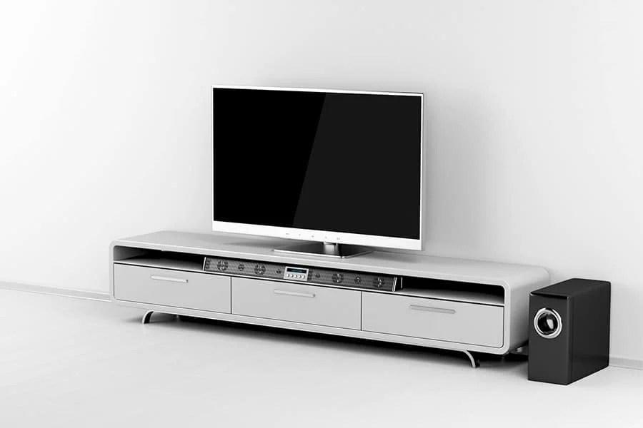can you put a soundbar in a cabinet
