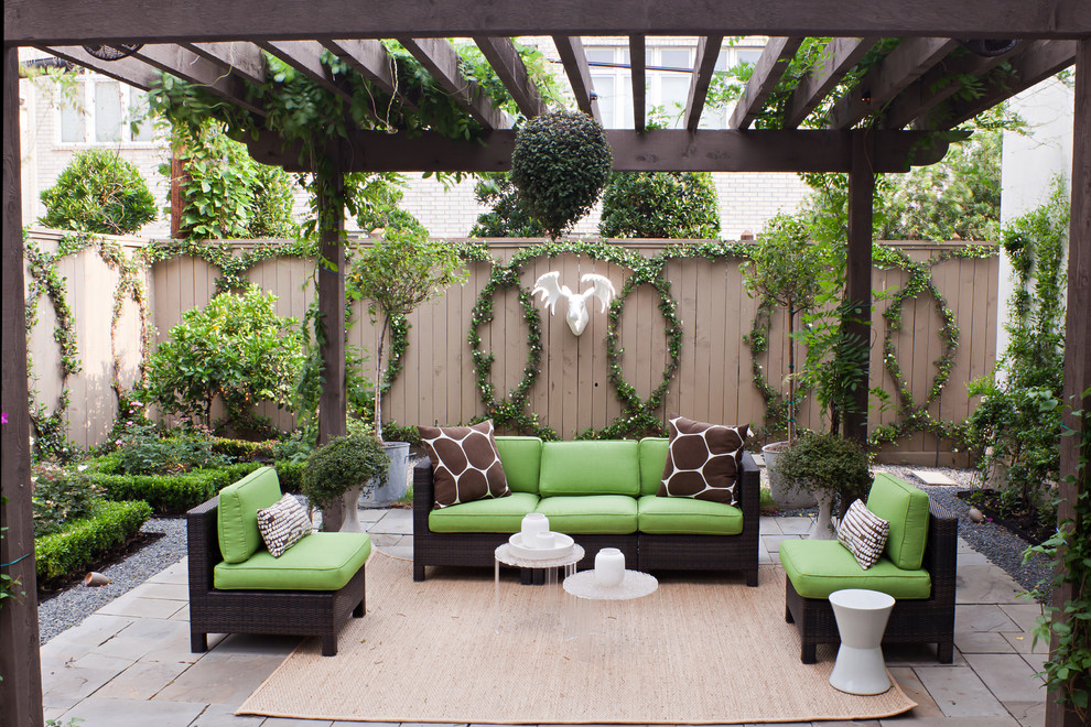 10 Fabulous Ideas to Decorate Your Patio or Garden Fence on Backyard Patio Decorating Ideas id=55480