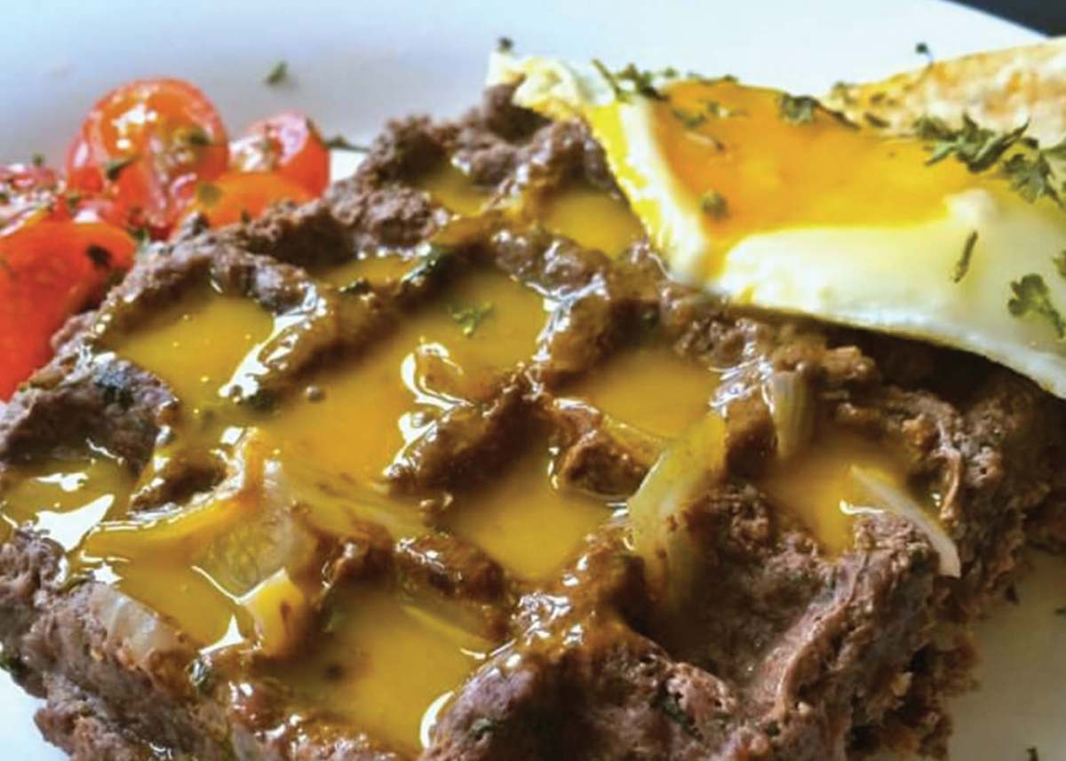 bison meat waffles