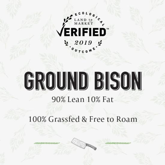 Land to Market Verified Ground Bison