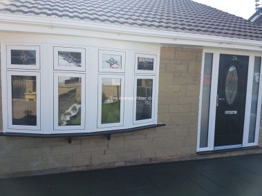 White Flush Finish Windows Liverpool