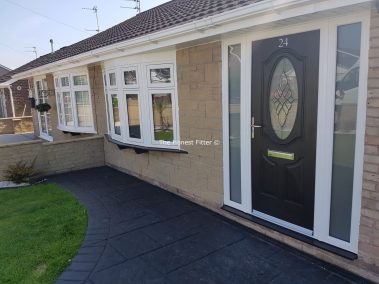 Flush Finish Windows With Diamond Bevels The Honest Fitter
