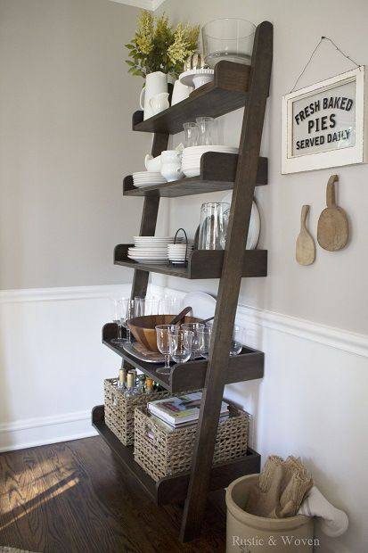 Decorating With Ladders - The Honeycomb Home