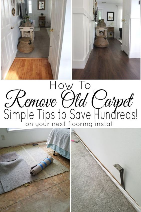 how to remove carpeting the honeycomb