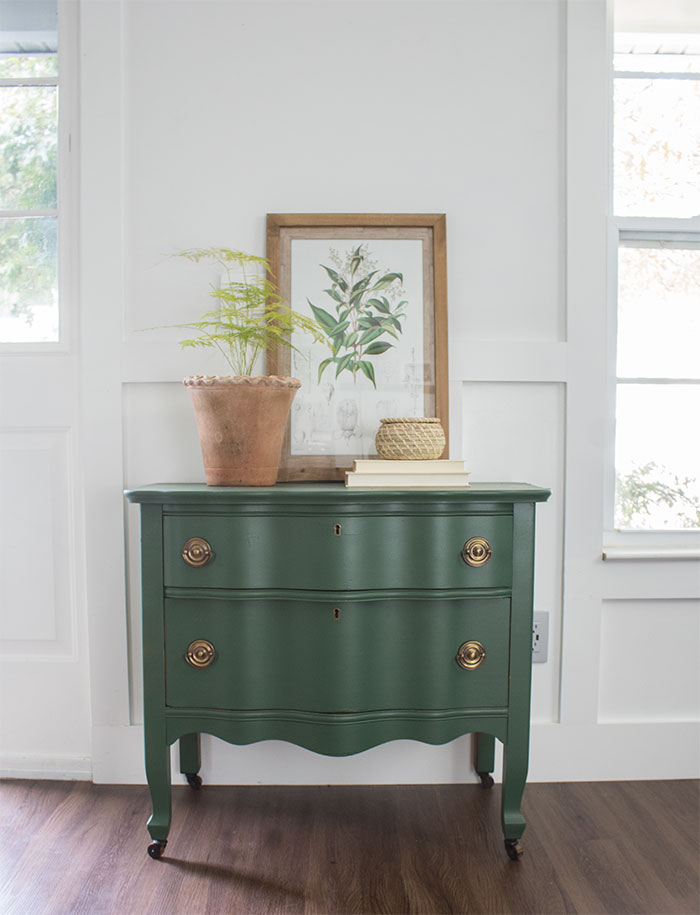 painted dresser vintage upcycle the