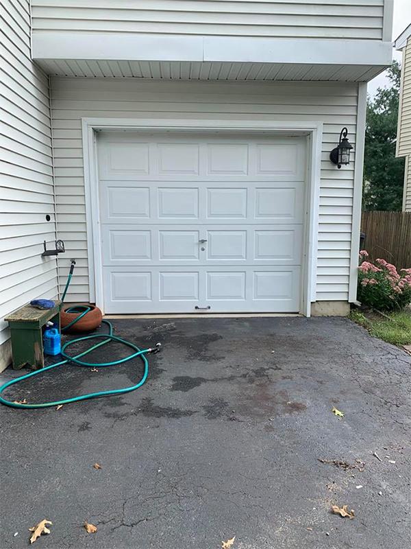 Garage Doors: Simple Makeover With Big Impact - The ... on Garage Door Paint Ideas  id=31809