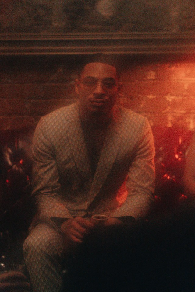 A still of Arin Ray from the music video of this latest single 'The Get Down'