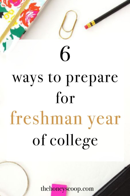6 Ways To Prepare Best For Freshman Year at the Honey Scoop