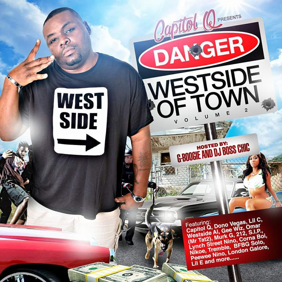 """Capitol Q Releases """"Westside Of Town: Volume 2"""", Talks about his song """"Bert Case"""""""