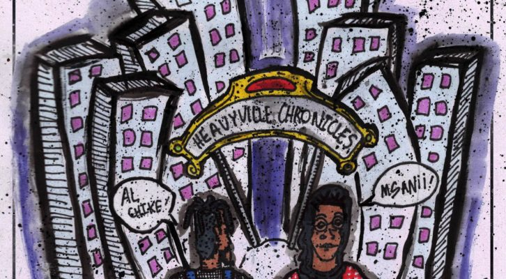 "DMV natives Msanii and Al Chike releases joint EP ""HeavyVille Chronicles"""