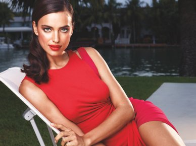 Avon new global beauty face- Russian Irina Shayk