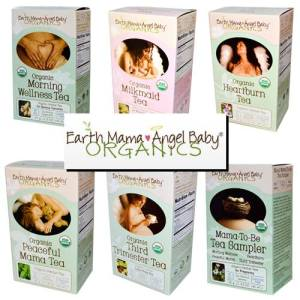 Earth Mama Angel Baby Tea choices