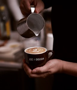 Each cup of coffee is specially brewed by an experienced barista at any of Joe & Dough's outlet, anytime of the day.  Photo: Joe & Dough