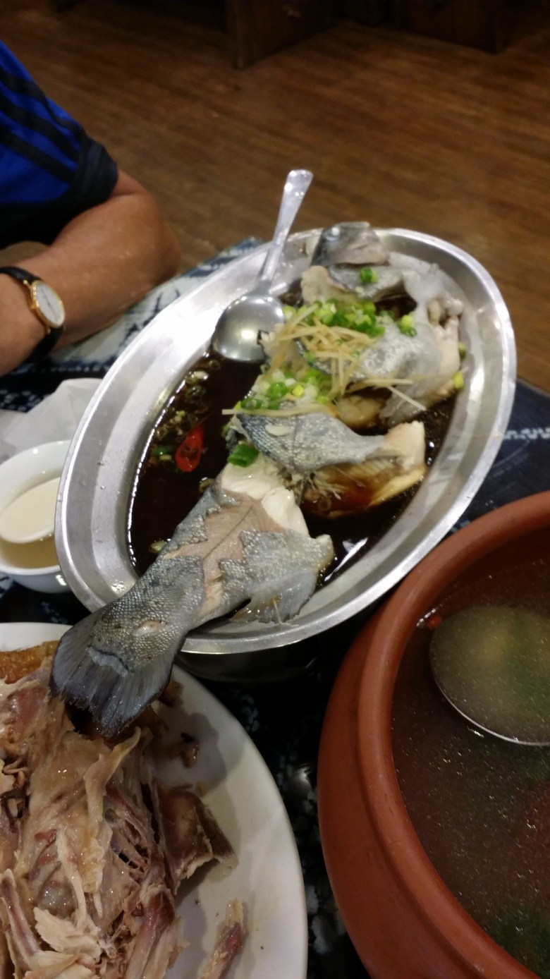 steamed fish dinner near cingjing holiday