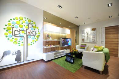 Living Room at the Ronald McDonald House. Credit: RMHC