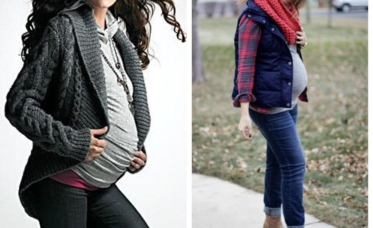 Pregnancy wear during winter