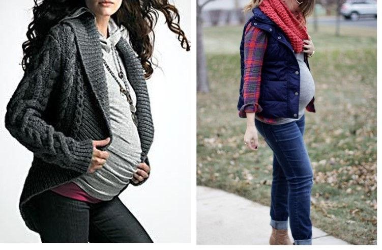 Pregnancy wear during winter