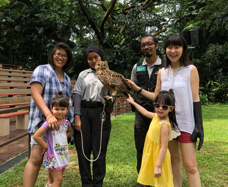 family experience at Jurong Bird Park Singapore review