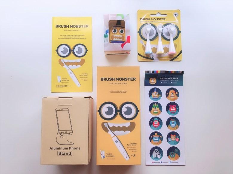 smart brush monster bundle review giveaway