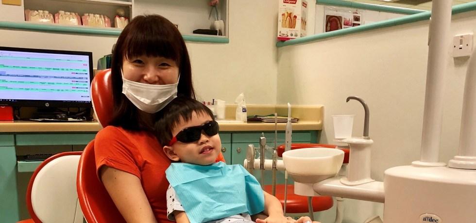singapore mum blogger review kids dentist