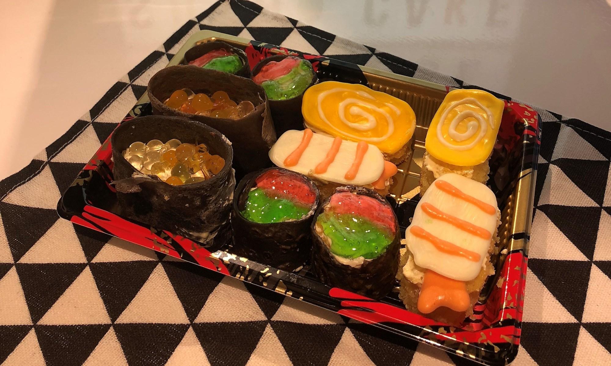 sushi cake recipe - baking class singapore