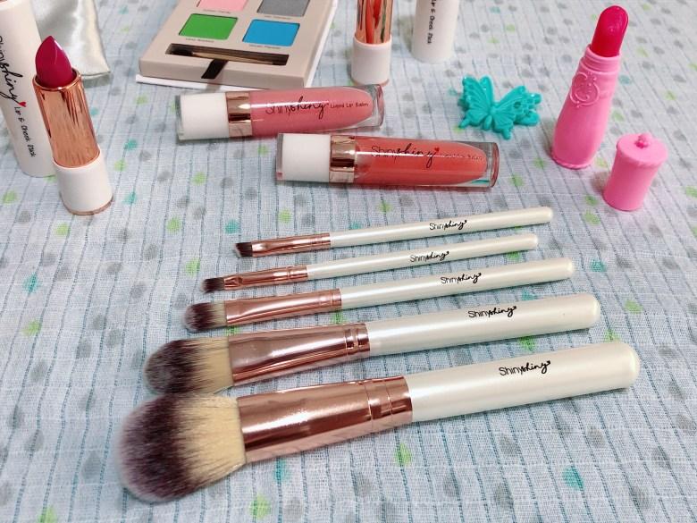 review ShinyShiny kids makeup brush