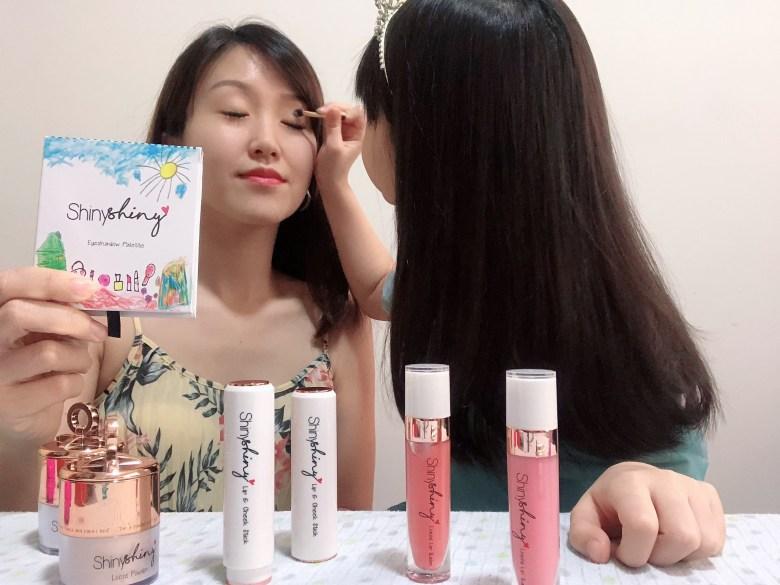 children safe eye shadow makeup ShinyShiny