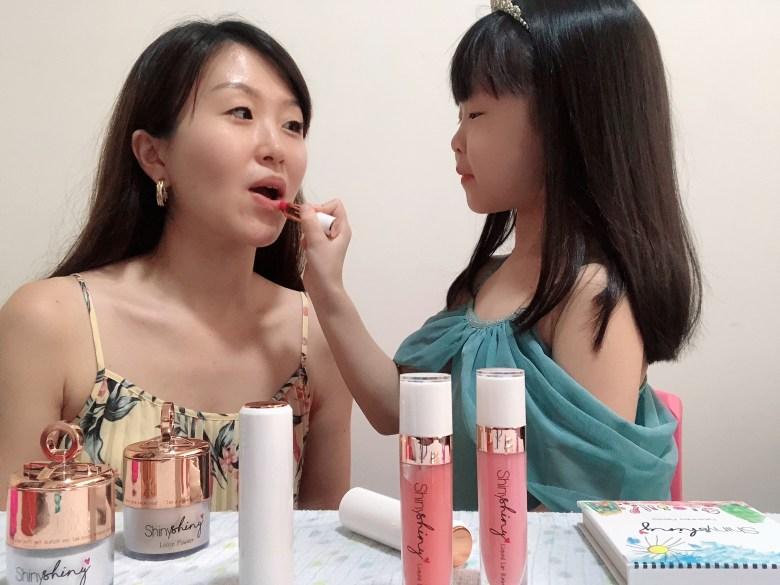 singapore mum blogger review kid-friendly makeup ShinyShiny